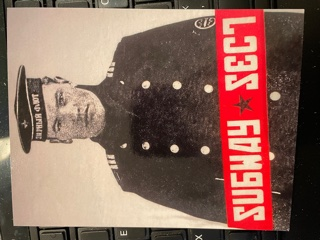 SUBWAY SECT, Promo Postcard