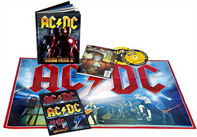 AC/DC, Iron Man 2 - Collector's Edition