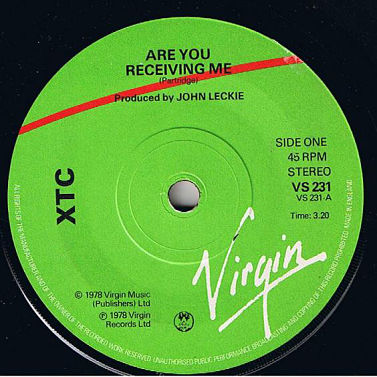 XTC, Are You Receiving Me