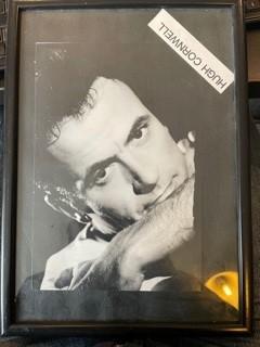 HUGH CORNWELL (STRANGLERS), Framed Photograph