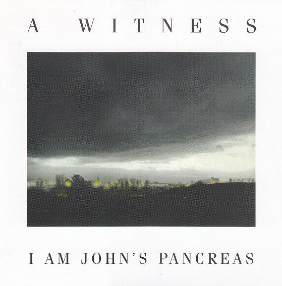 A WITNESS, I Am John's Pancreas