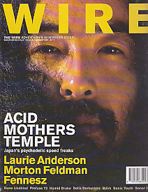 The Wire Front Cover August 2001