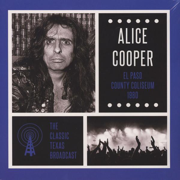 ALICE COOPER, El Paso County Coliseum 1980