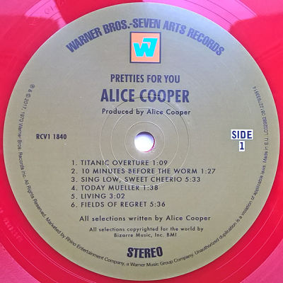 ALICE COOPER, Pretties For You