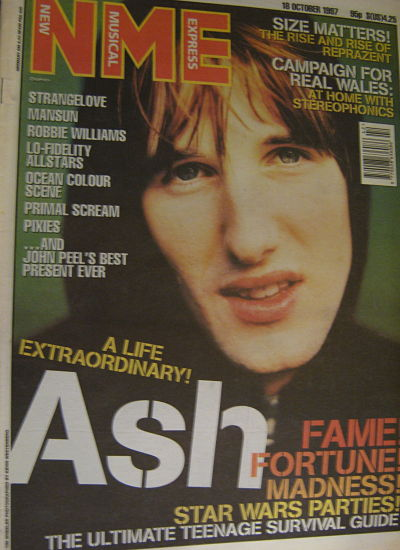 Front Cover NME 18/10/97