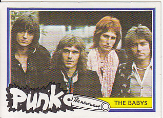 BABYS, 1977 Punk Bubblegum Card