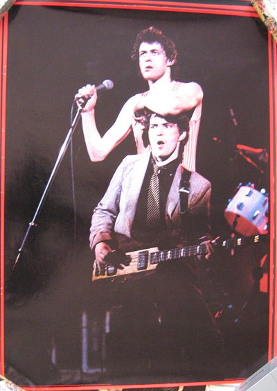BOOMTOWN RATS, Live Shot Poster