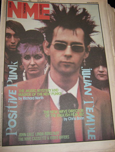 BRIGANDAGE, Front Cover NME 19/2/83