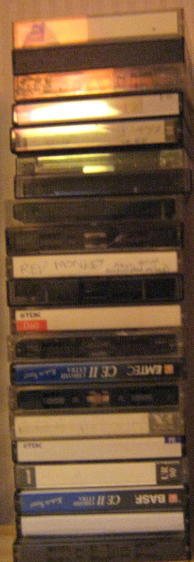 CASSETTES, Stack Of At Least 20 Used Cassettes