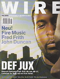 DEF JUX, The Wire Front Cover June 2001