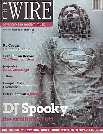 DJ SPOOKY, The Wire Front Cover Aug 1995