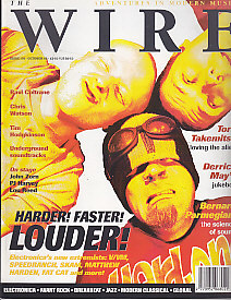 The Wire Front Cover Oct 1998