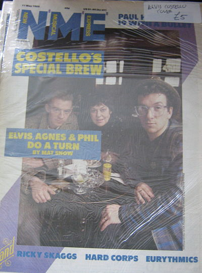 Front Cover NME 11/5/85