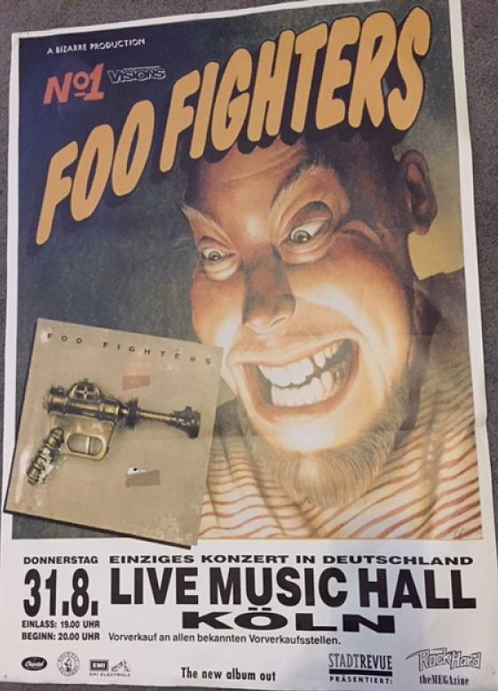Germany 31/8/95 Poster
