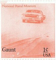 GAUNT, National Postal Museum