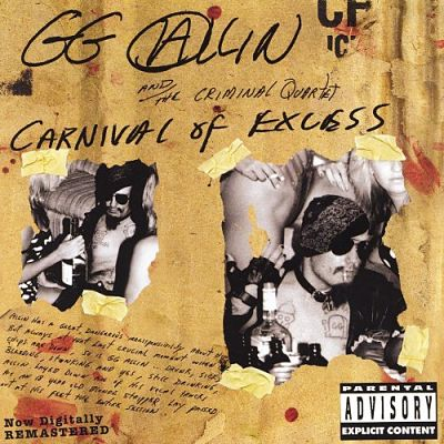 GG ALLIN, Carnival Of Excess