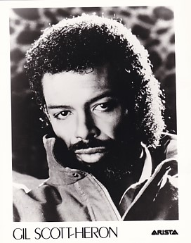 GIL SCOTT-HERON, Arista Press Photo