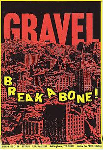 Break A Bone Promo Postcard