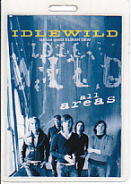 IDLEWILD, 2005 German Tour Laminate