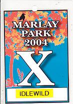 Marlay Park 2004 Gig Laminate