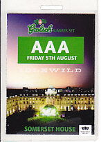 Somerset House 2005 Gig Laminate