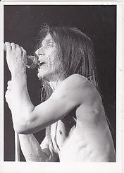 IGGY POP, 1993 Live Photo