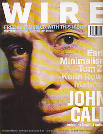 The Wire Front Cover April 2001