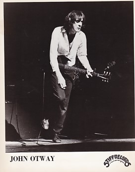 JOHN OTWAY, 1980 Stiff Press Photo
