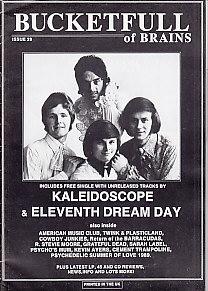 KALEIDOSCOPE / ELEVENTH DAY DREAM, Single With Bucketfull Of Brains #29