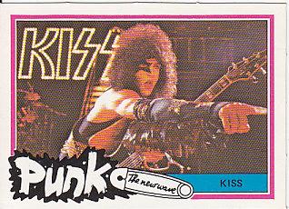 Rare 1977 Punk Bubblegum Card