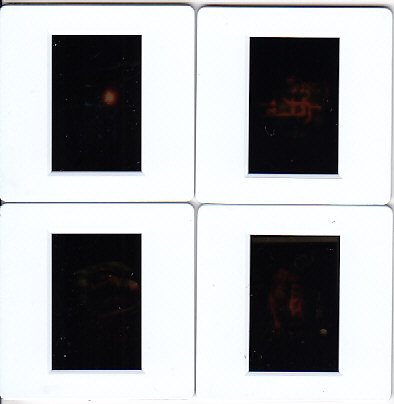 Set Of Four Individual Transparencies