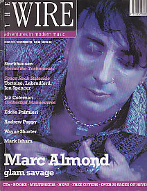 The Wire Front Cover Nov 1995
