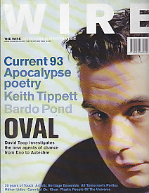 The Wire Mag Front Cover May 2001