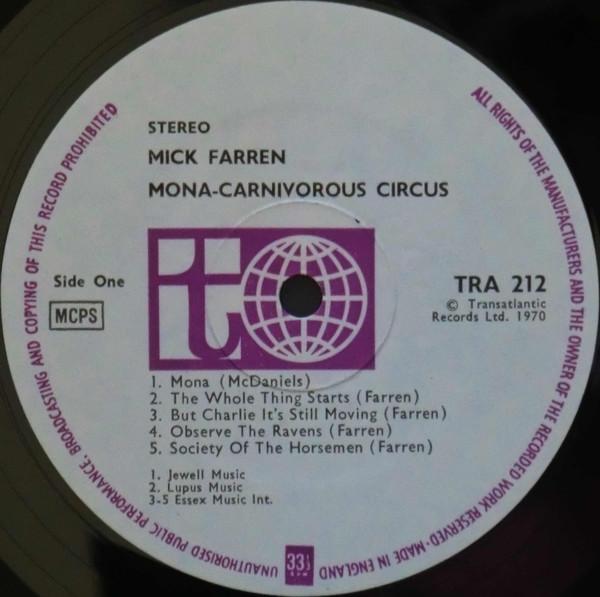Mona – The Carnivorous Circus