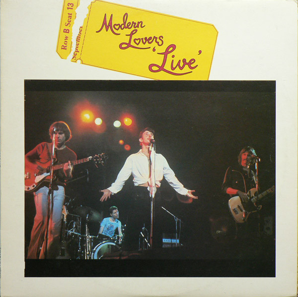 MODERN LOVERS, Live