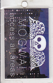 MOGWAI, 2011 USA Tour Laminate