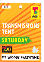 T In The Park 2013 Laminate