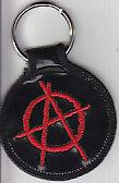 Anarchy Logo Key Fob