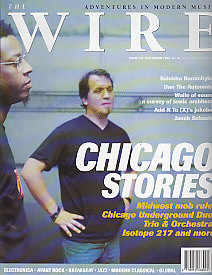 The Wire Front Cover Nov 2000