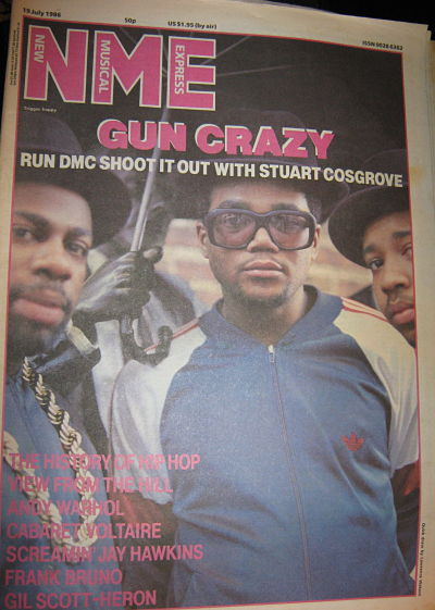 Front Cover NME 19/7/86