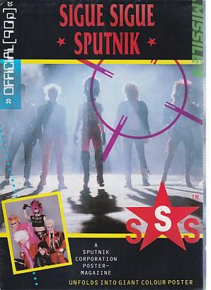 A Sputnik Corporation Poster - Magazine