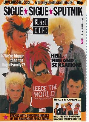 Blast Off! 1986 Poster - Magazine