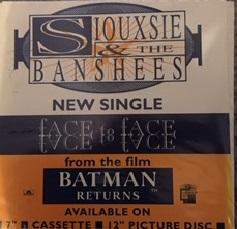 Face To Face Vinyl Shop Display Promo Board