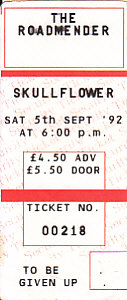05/09/02 Gig Ticket Stub