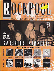 Front Cover Rockpool Magazine Sept 1991