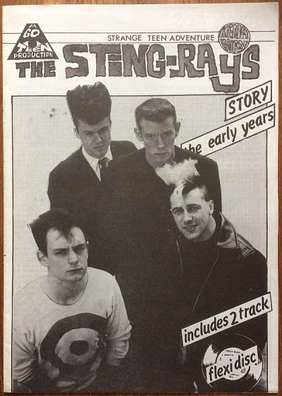 STING-RAYS, The Sting-Rays Story, The Early Years