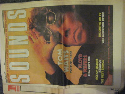 Front Cover Sounds 17/10/87