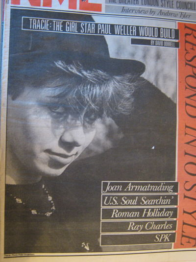 Front Cover NME 9/4/83