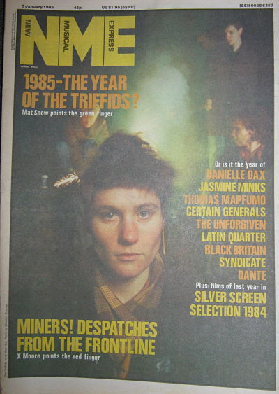 Front Cover NME 5/1/85