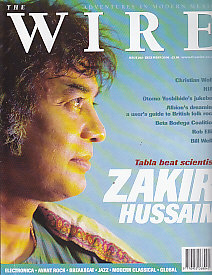 ZAKIR HUSSAIN, The Wire Front Cover Dec 2000
